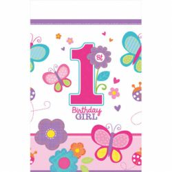 Obrus 1st birthday dievča
