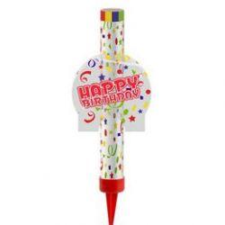 Fontána na tortu Happy birthday