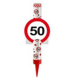 Fontána na tortu 50. narodeniny