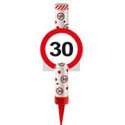 Fontána na tortu 30. narodeniny