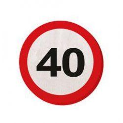 Tabuľa 40. narodeniny