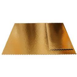 Obojstranný zlatočierny podnos 15 x 41 cm