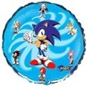 Balón Sonic - kruh