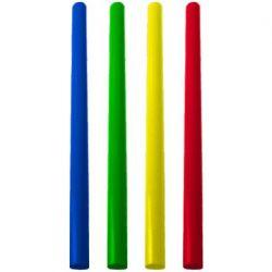 Slamky JUMBO farebný mix 28cm (250ks)
