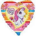 Balón Pony - tmavý