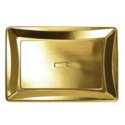 Zlatá tácka 30x40 cm