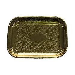Lepenková tácka zlatá 29,7 x 38,5 cm