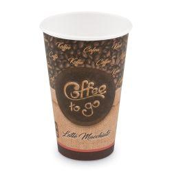 """Papierový pohár """"Coffee to go"""" 510 ml (PAP/PE) Ø 80 mm (50ks)"""