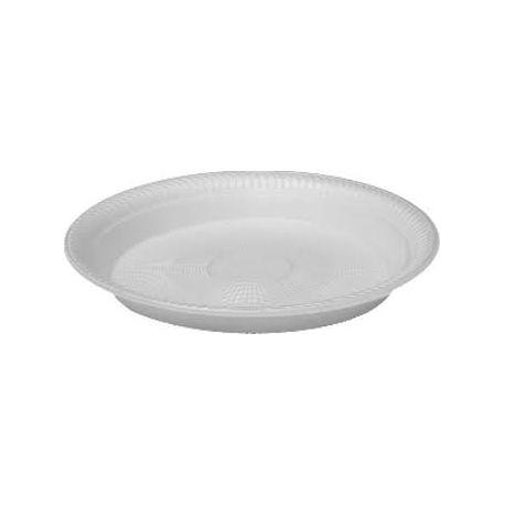 Termo-tanier biely (EPS) 22,5cm (100ks)