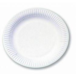 Papierový tanier plytký (PAP -100% celulóza) 15cm (100ks)