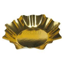 Papierový tanier Hviezda zlatý (PAP/ALU) 28cm (25ks)