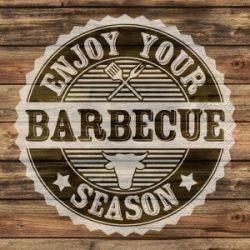 Obrúsky 3- vrstvové Barbecue Season (PAP- 100% celulóza) 33x33cm (20ks)