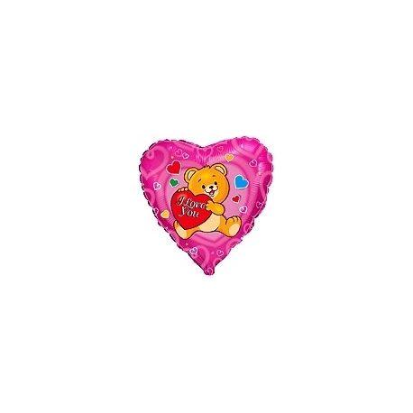 Balón Zaľúbený macko