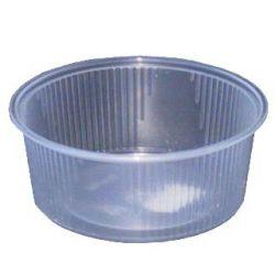 Miska okrúhla priehľadná 200ml (PP) 10,1x4cm (100ks)