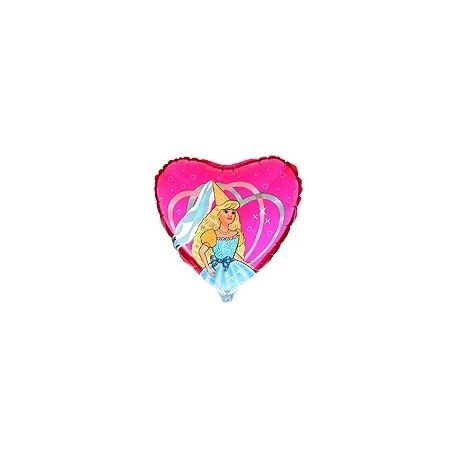 Balón Princezná - biela pani