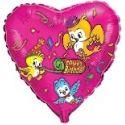 Balón Vtáčiky