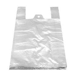 Taška blokovaná biela 4kg (HDPE) 24+11x44cm (100ks)