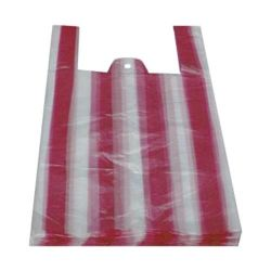 Taška blokovaná pruhovaná 4kg (HDPE) 24+11x44cm (100ks)