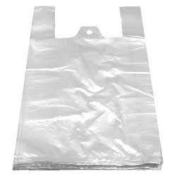 Taška blokovaná extra silná biela 5kg (HDPE) 24+11x46cm (100ks)