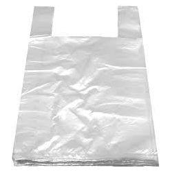 Taška extra silná biela 5kg (LDPE) 25+12x47cm (1000ks)