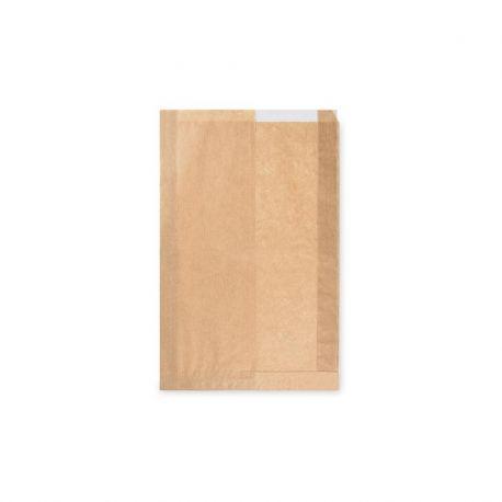 6974f906c Papierové vrecko s okienkom (PAP/PP) 22+5x34cm (14cm) 1000ks
