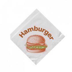 Vrecko na hamburger (PAP) 16x16cm (500ks)