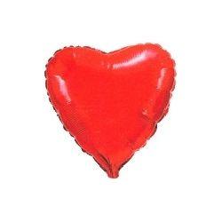Balón Srdce - červené