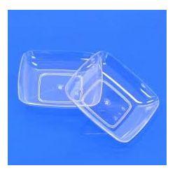 Fingerfood tanierik obdĺžnikový číry (PS) 7,7x5,2x1,6cm (50ks)