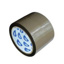 Lepiaca páska hnedá (PP/ACRYL) 66m x 75mm