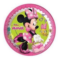 Minnie tanieriky, 23 cm, 8 ks