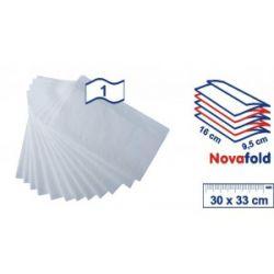 Obrúsok do zásobníka biely (PAP-100% celulóza) 30x33cm (7200ks)