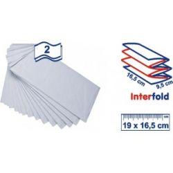 Obrúsok do zásobníka biely (PAP-100% celulóza) 19x16,5cm (5400ks)