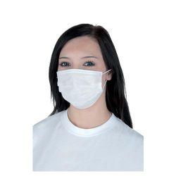 Maska na tvár z 2- vrst. tissue papiera (PAP- 100% celulóza) 100ks