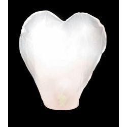 Lampión červený srdce