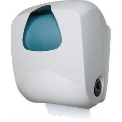 Zásobník s atomat.odstrihom uterákov v roli biely  INTRO (ABS)