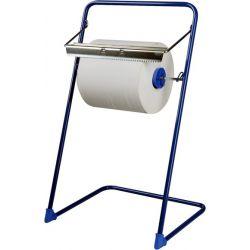 Odvinovač kovový stojanový pre utierky v roli modrý (FE)