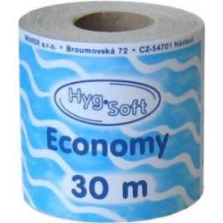 Toaletný papier 1-vrstv. natural (PAP - Recykl) priemer 10cm, 30m (8ks)