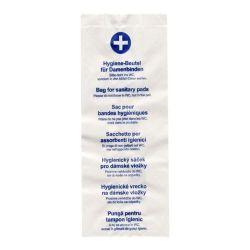 Hygienické papierové vrecká (PAP) 11+6x28cm (100ks)