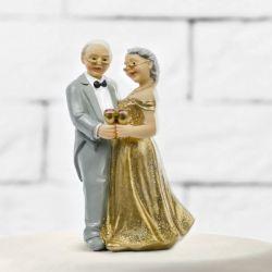 Figúrka na tortu zlaté výročie