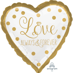Balón Love Always and Forever 43cm