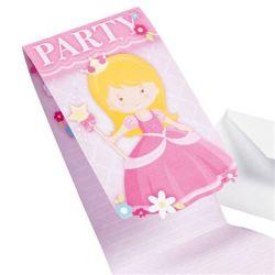 Pozvánky Barbie 8ks