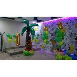 Fóliový balón palmový list
