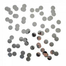 Konfety do balónov - strieborný kruh
