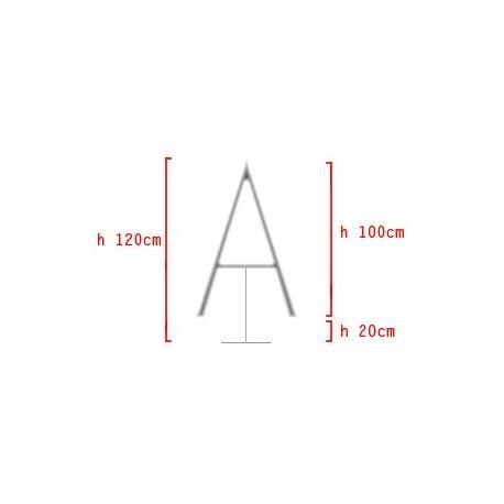 Konštrukcia na výzdobu v tvare - Písmeno