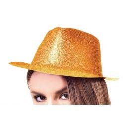 Párty klobúk - zlatý