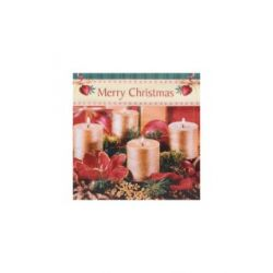 Vianočné servítky veniec