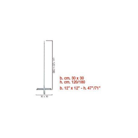 Konštrukcia na výzdobu v tvare - Stĺp