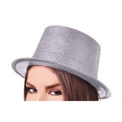 Párty klobúk - strieborný