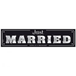 ŠPZ auta- Just Married