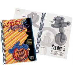 Kniha - návody na modelovanie z balónov POSTAVIČKY